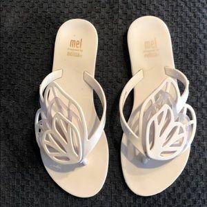 Mel Melissa flip-flops